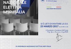 IX Assemblea Nazionale Elettiva MSP Italia