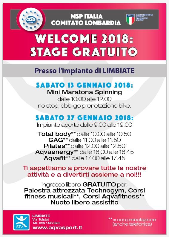 Stage gratuito