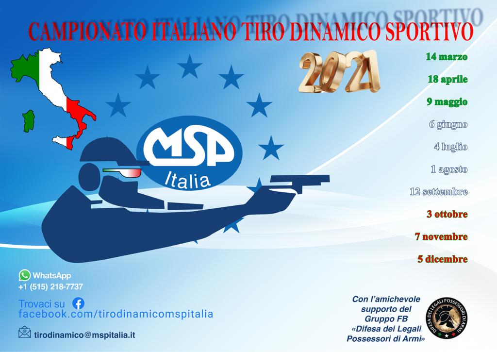 Campionato Italiano di Tiro Dinamico Sportivo 2021